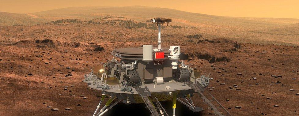 Sonda Tianwen para Marte