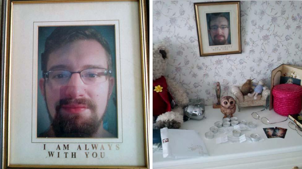 Framed photo of Ben Field