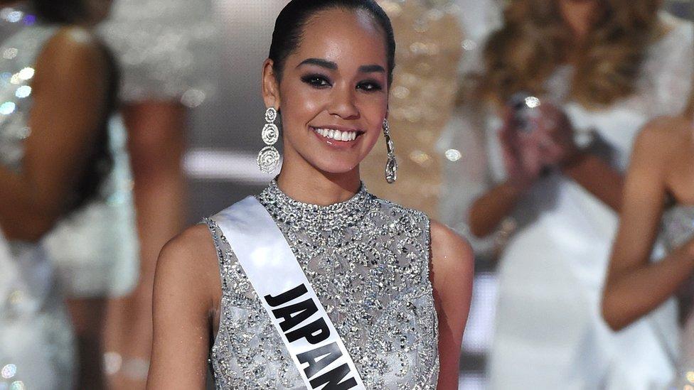 Ariana Miyamoto, Miss Japan 2015