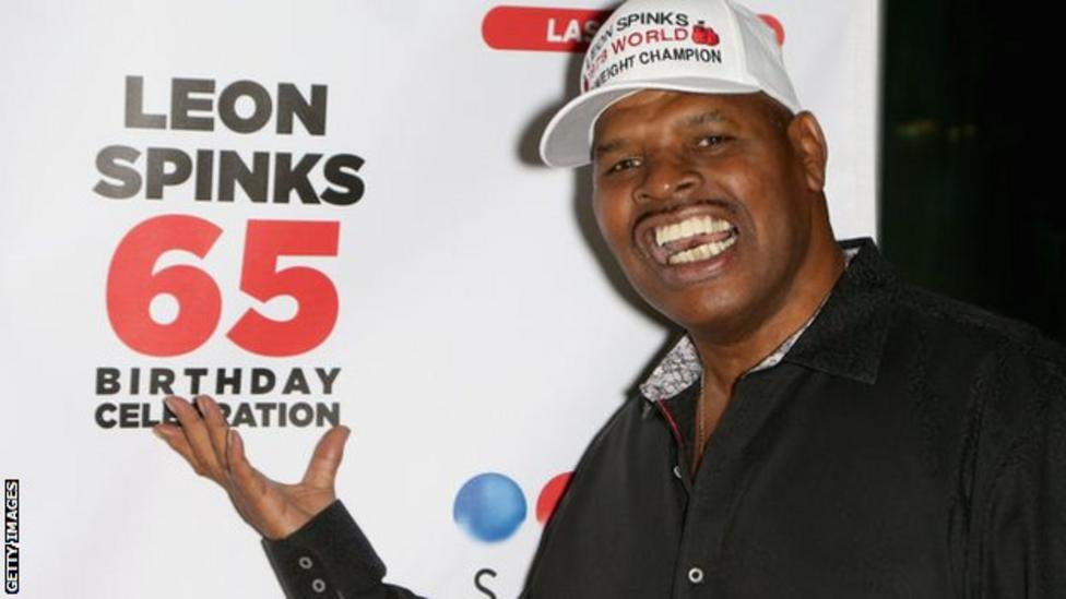 Spinks celebrated his 65th birthday in 2018
