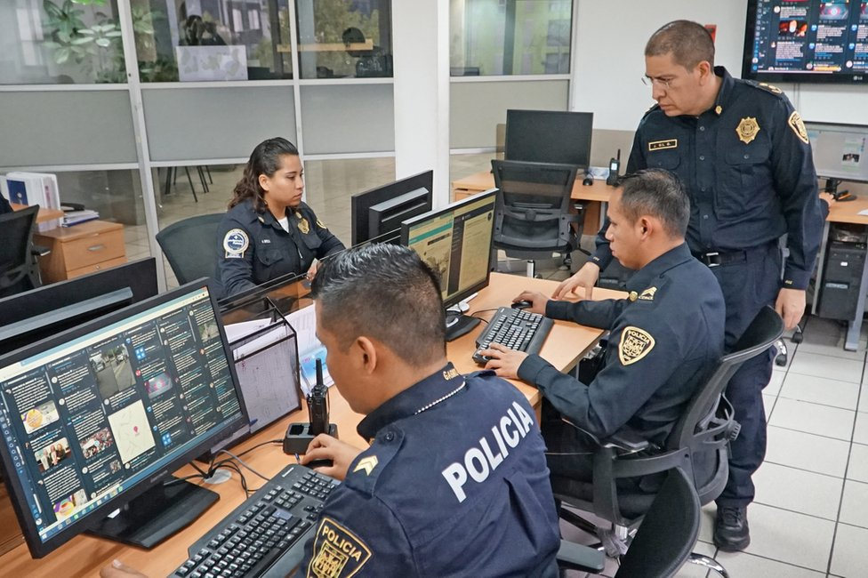 Cyberpolice in Mexico