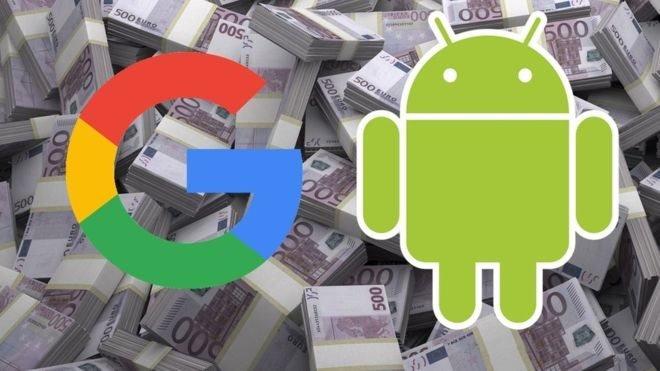 ЄС оштрафував Google на 5 млрд доларів