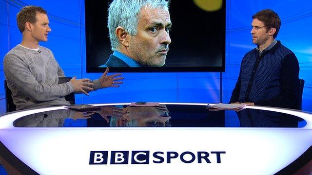 Football Focus' Dan Walker and Kevin Kilbane
