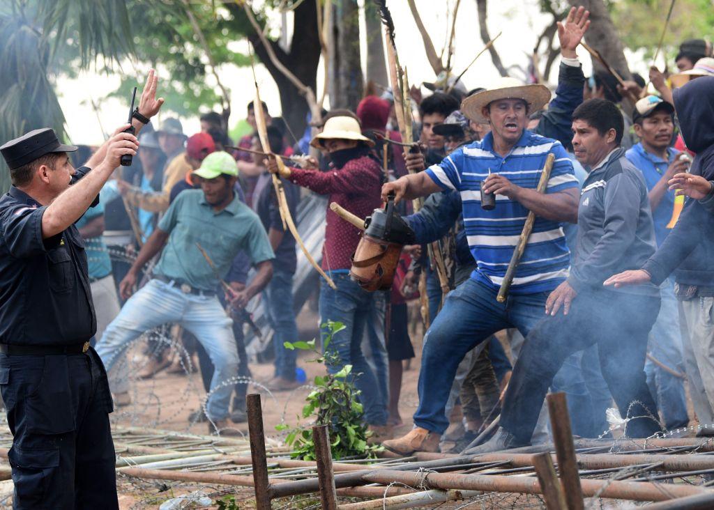 Protestas en Asunción