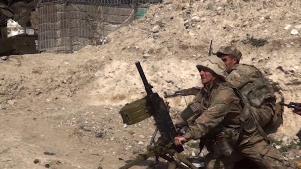Tentara Azerbaijani . Foto: 28 September 2020