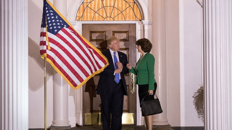 Representative Cathy McMorris Rodgers -speaking with the president-elect