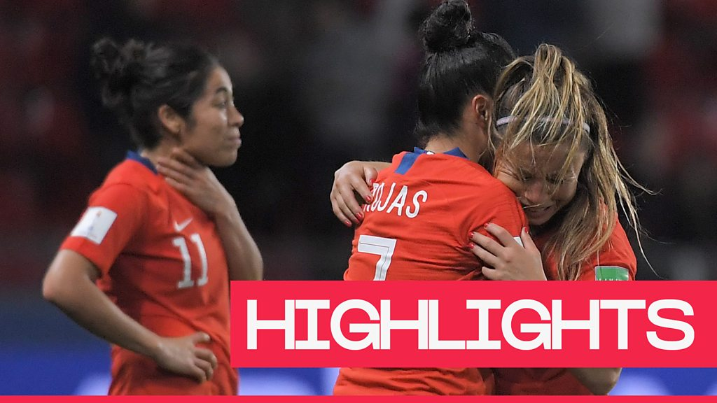 Women's World Cup 2019: Chile miss out on a place in the last-16 of the Women's World Cup
