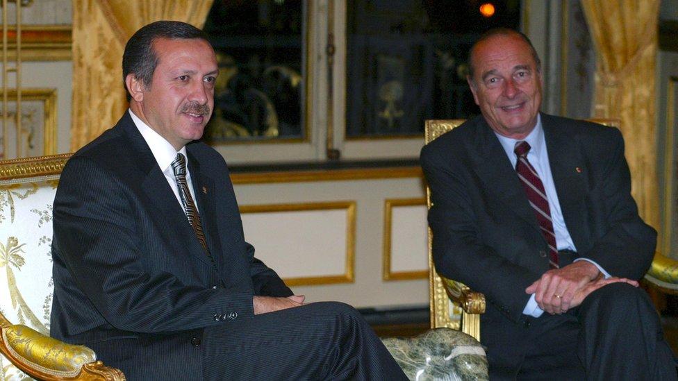 Erdoğan ve Chirac