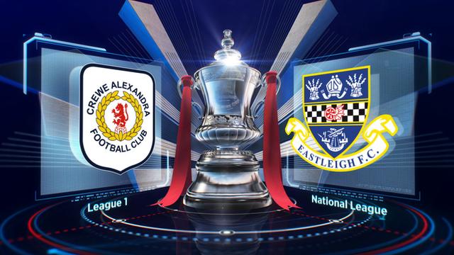 Highlights: Crewe 0-1 Eastleigh