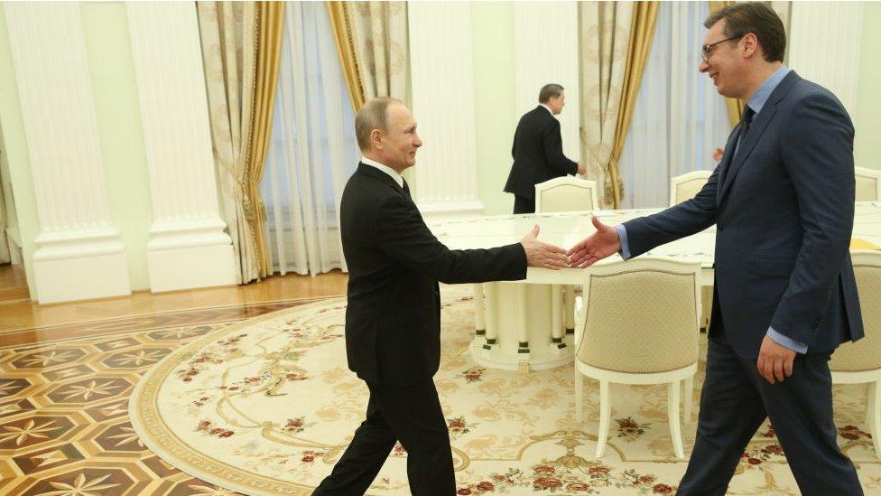 Susret Aleksandra Vučića i Vladimira Putina