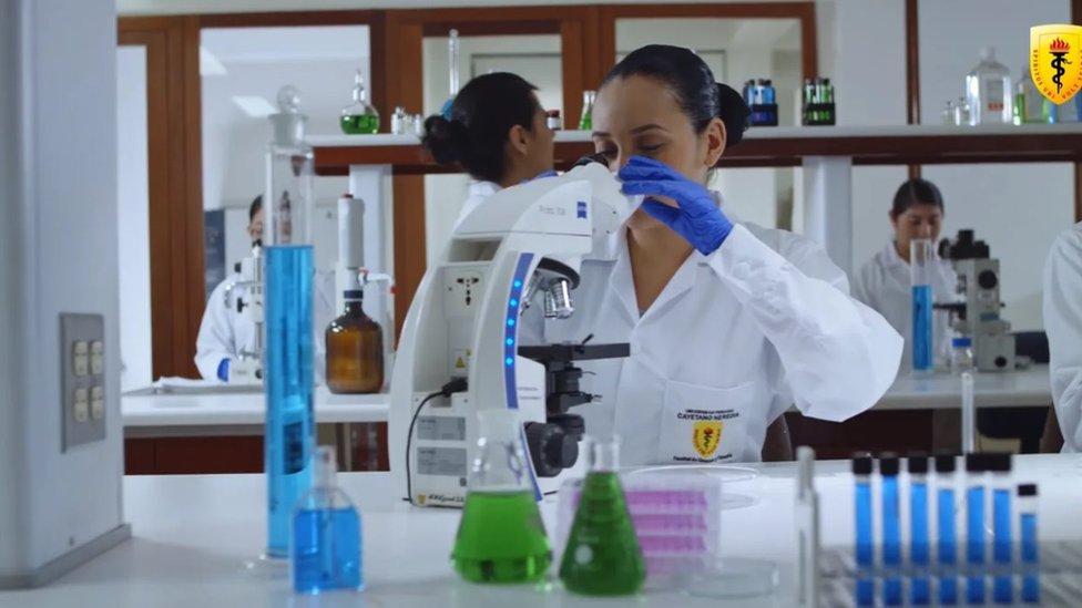 Una científica en la Universidad Peruana Cayetano Heredia