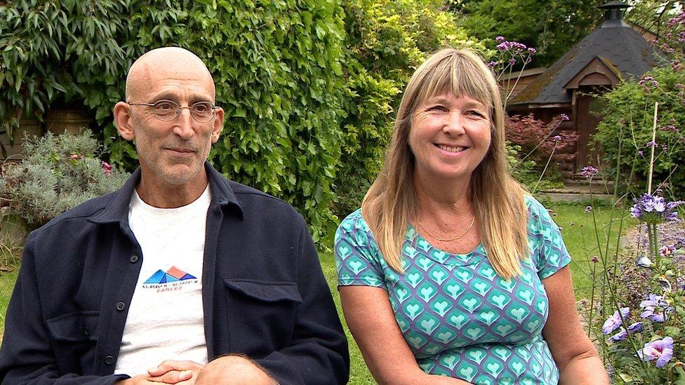 Sarah and Peter