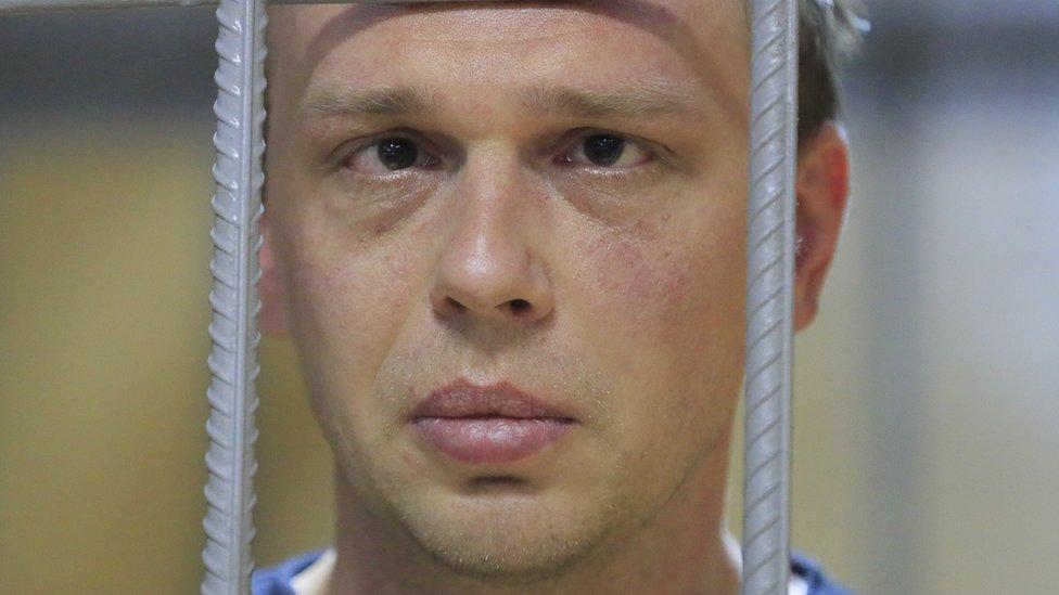 Slučaj hapšenja ruskog novinara mnogi vide kao udar na slobodu medija u Rusiji