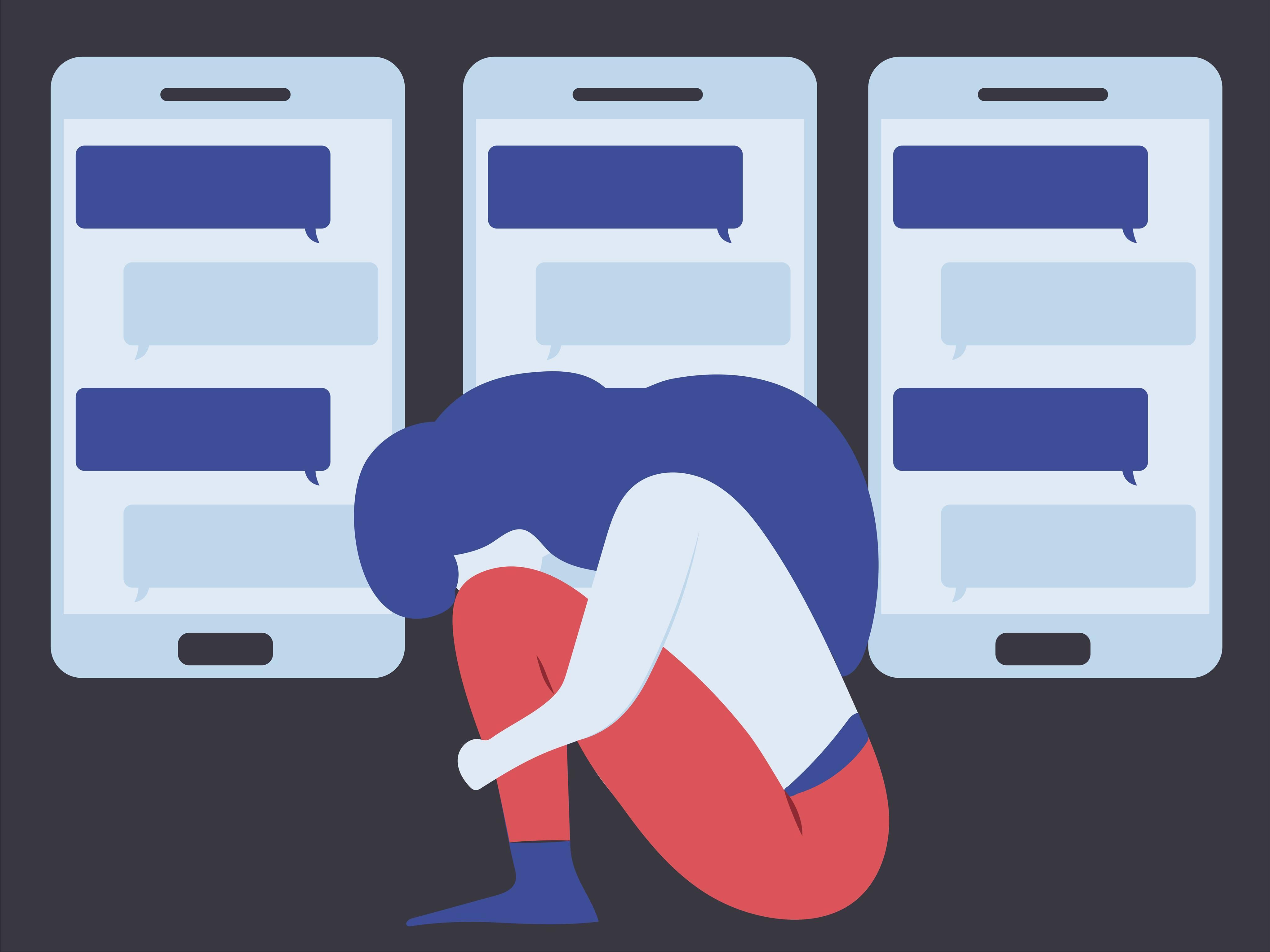 العنف الإلكتروني: عنف وابتزاز جنسي يمارس من خلف الشاشات