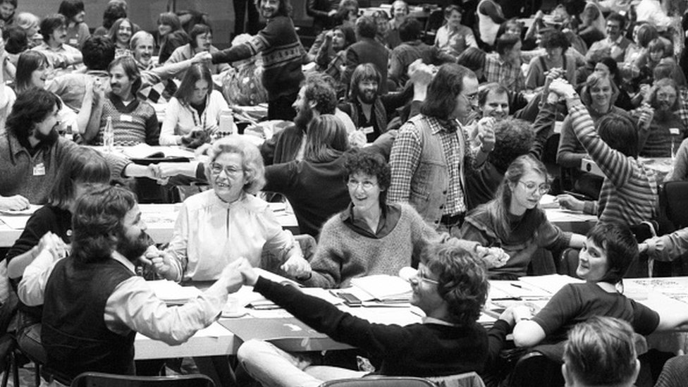 The Green Party conference in 1982