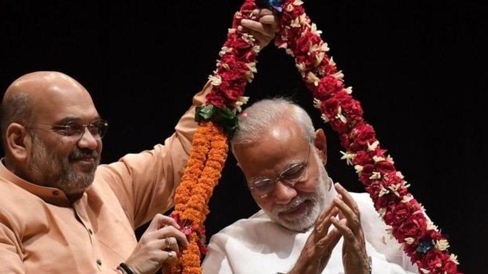 'अमित शाह ने नरेंद्र मोदी की छाया से अलग गढ़ ली है अपनी छवि'- नज़रिया