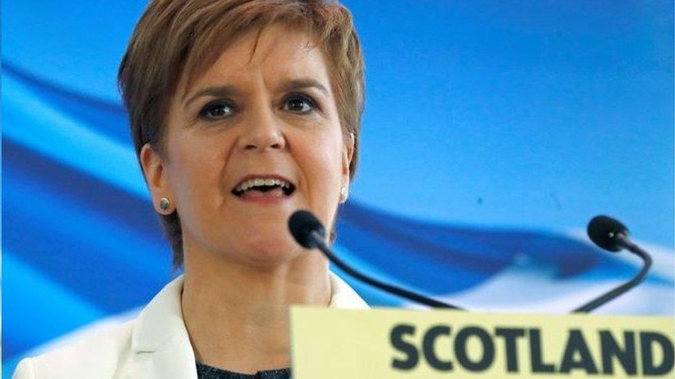 蘇格蘭民族黨領袖斯特金承諾要把舉行第二次蘇格蘭獨立公投寫進2021年蘇格蘭民族黨的宣言