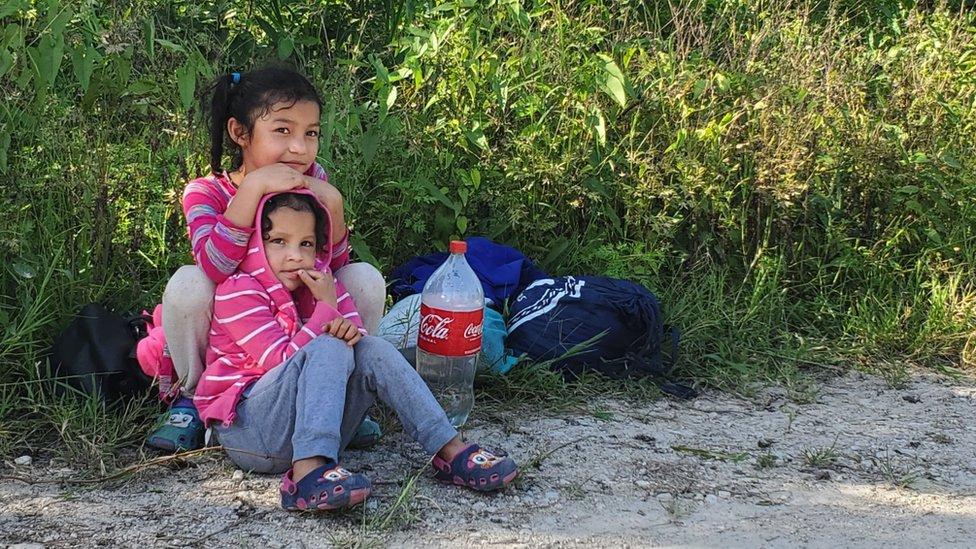 Niñas migrantes