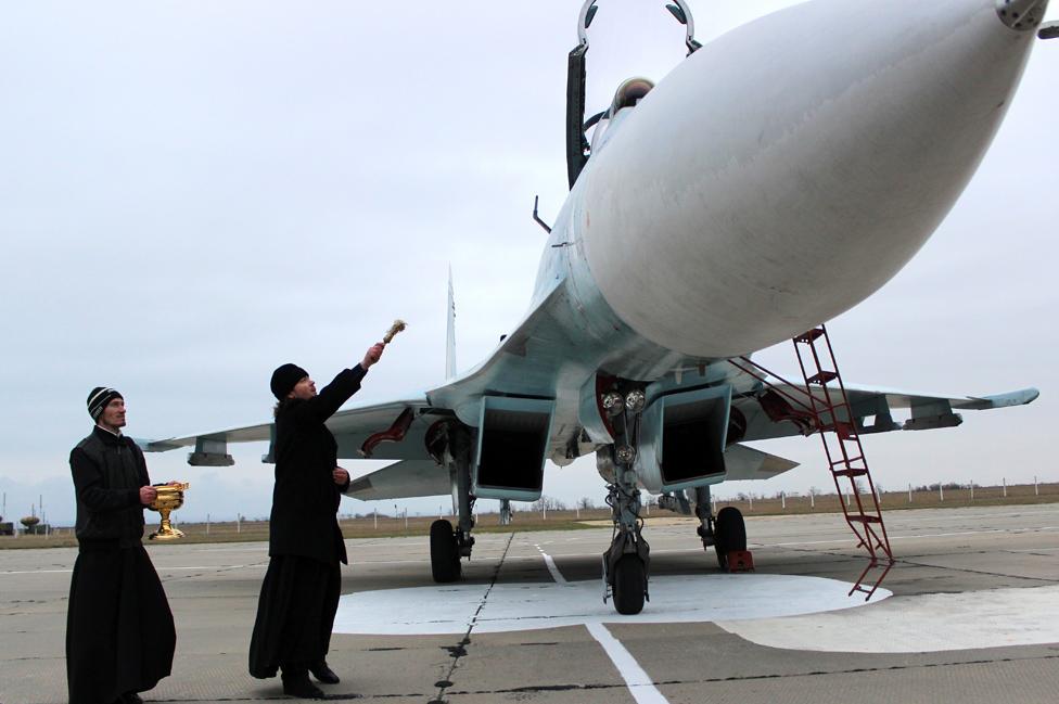 Russian blessing, 26 Nov 14