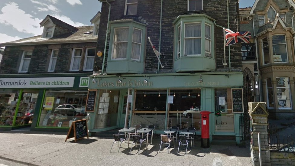 Man attacked ex-partner at Keswick bistro with knife