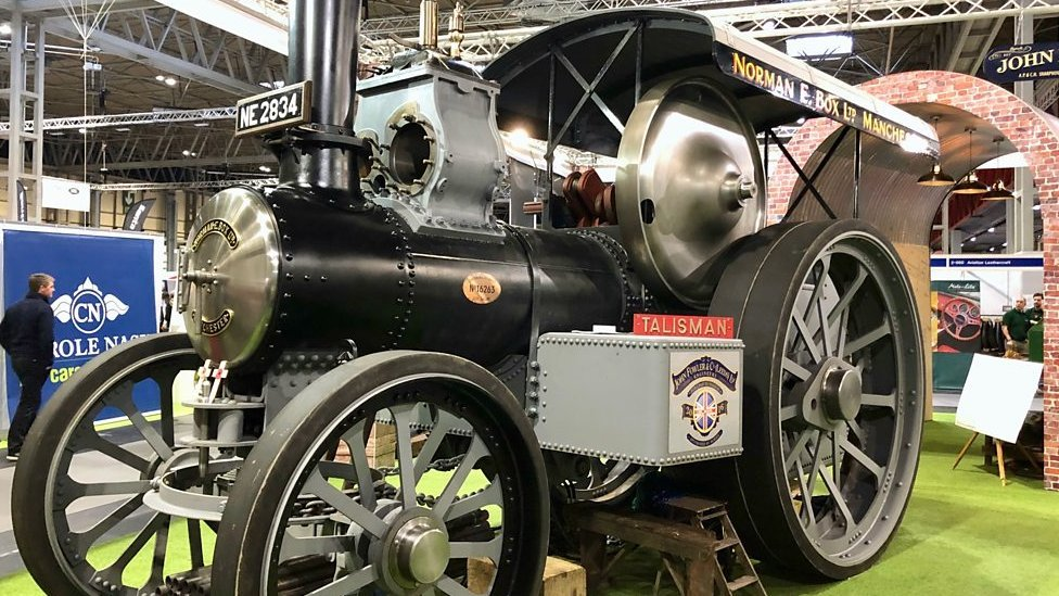 Recreated Talisman steam engine preparing for 300-mile tour