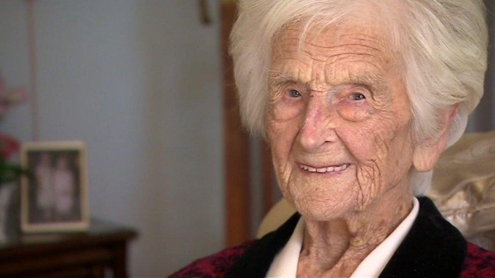 Grace Jones, 112, heard singing as WW1 ended