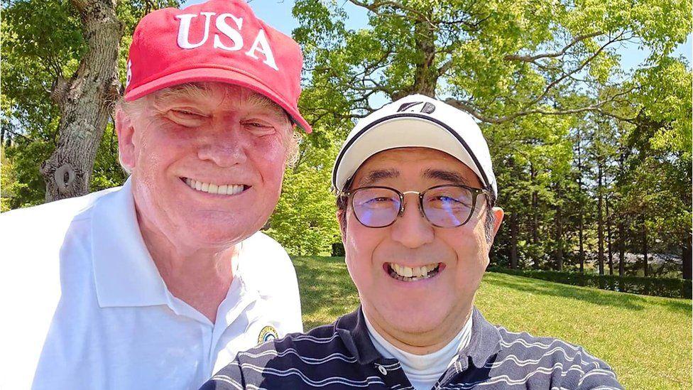 Trump dan Abe