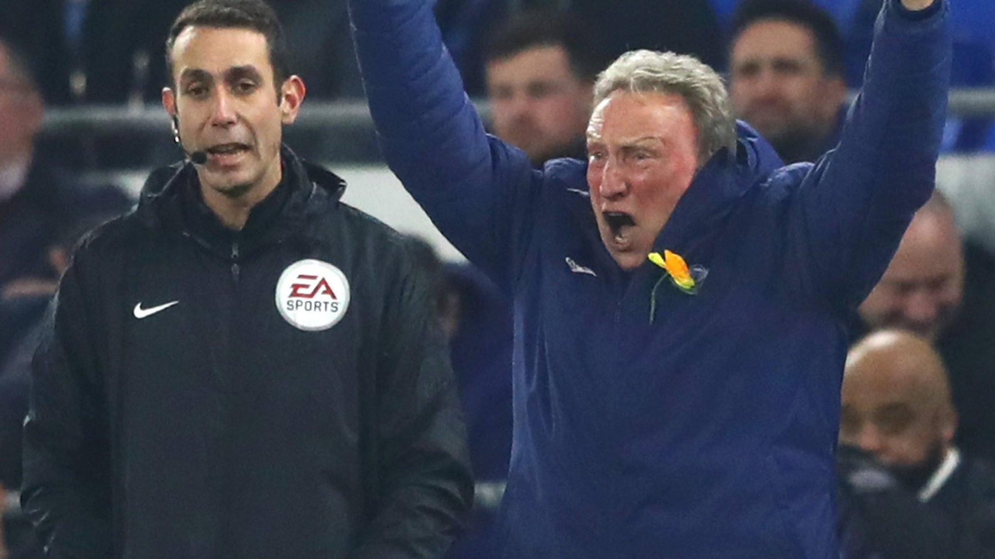 Neil Warnock and Claudio Ranieri call for VAR after controversial decisions