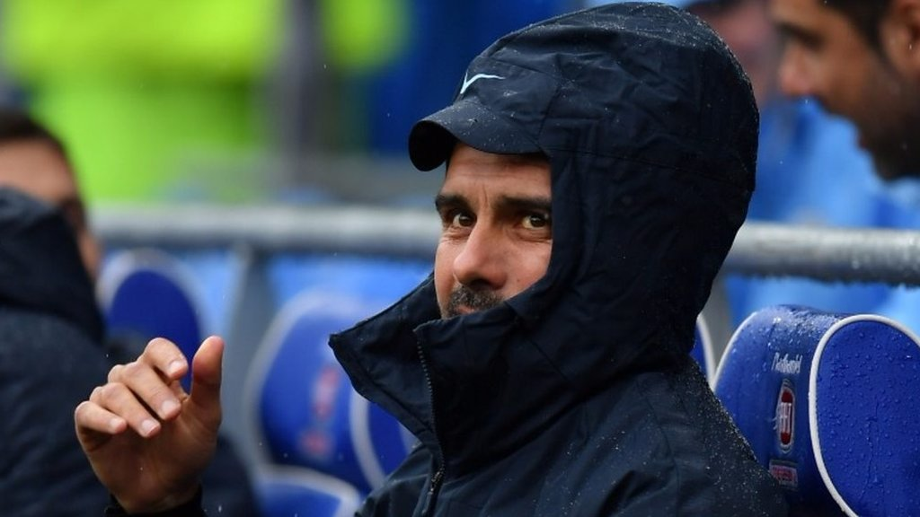 Cardiff 0-5 Man City: Pep Guardiola praises players 'perfect' mental approach
