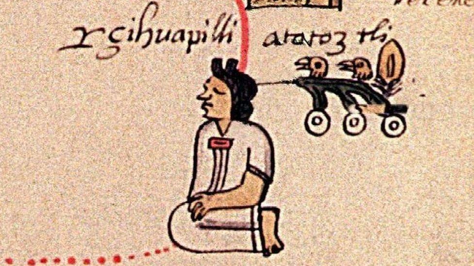 Atotoztli en el códice