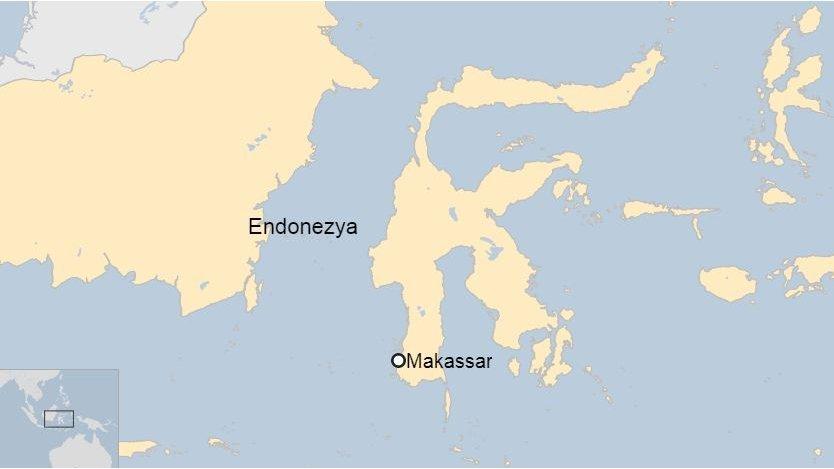 Endonezya harita