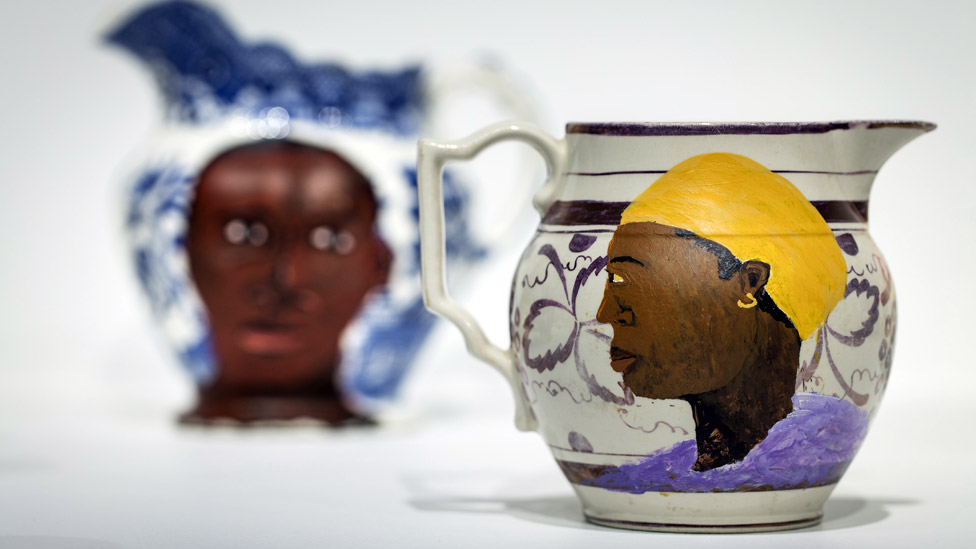 Lubaina Himid - Swallow Hard: The Lancaster Dinner Service, 2007