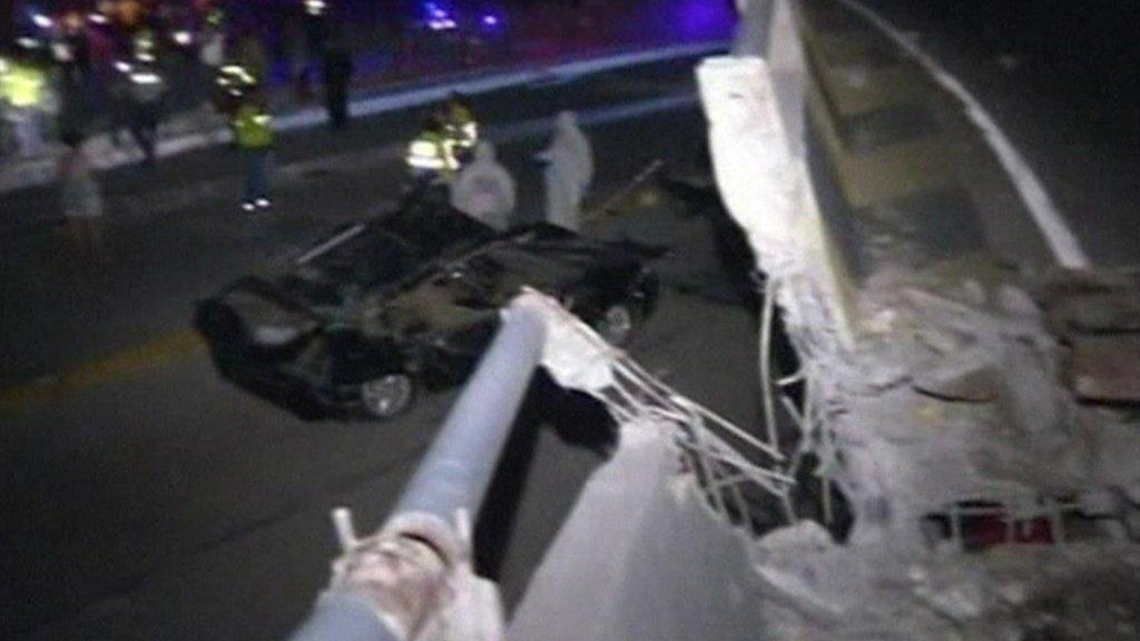 Ecuador bridge collapse