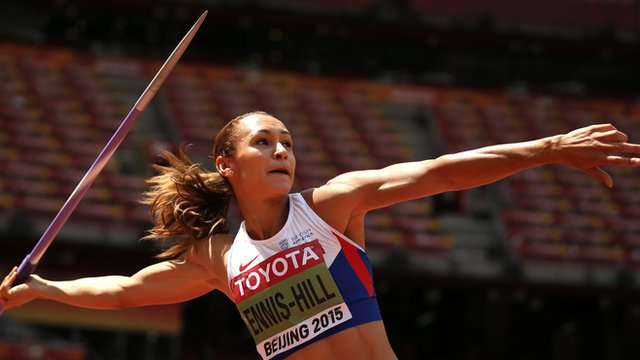 Jessica Ennis-Hill in World Championship heptathlon lead after six events