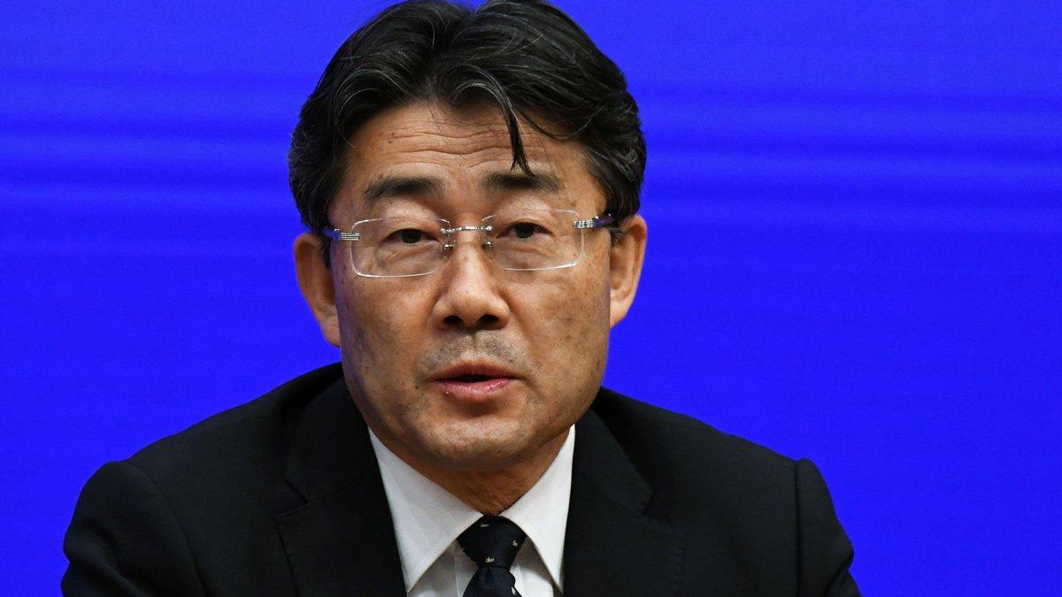 El director del Centro para el Control de Enfermedades de China, George F Gao, 22 de enero de 2020