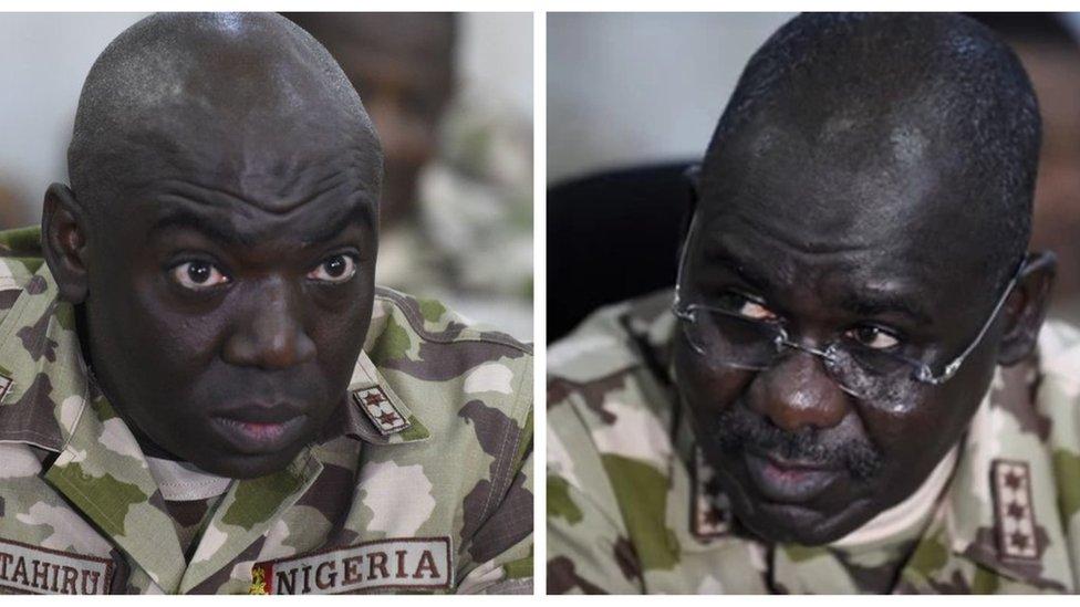 Buhari Service Chiefs: Ibrahim Attahiru profile and wetin we know about why Buratai 'sack' di Major General am for 2017 - BBC News Pidgin