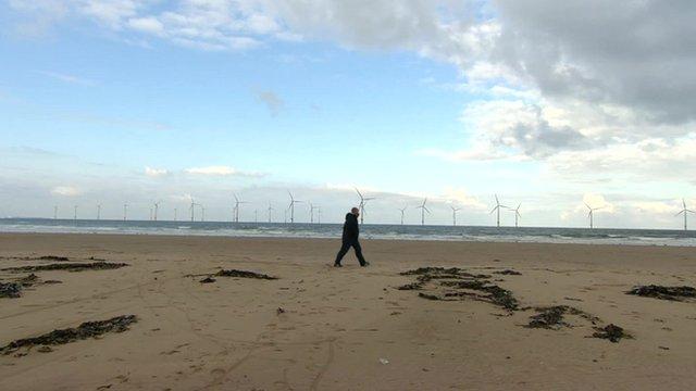 Ken McGlasson SSI Steel worker on beach