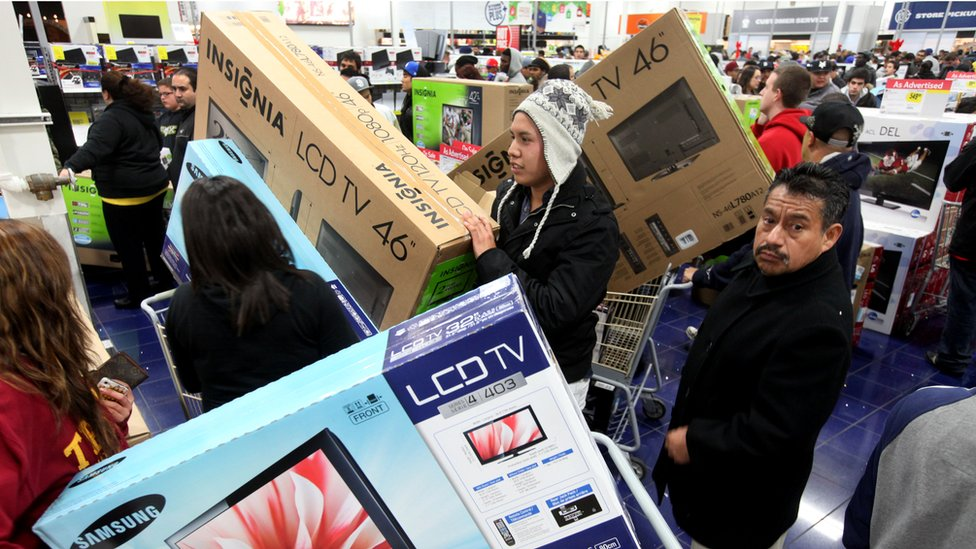 Black Friday How Sales Have Changed How We Spend Bbc News
