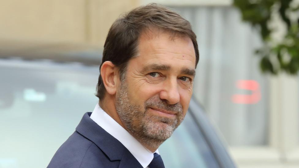 French Interior Minister Christophe Castaner, 2 Oct 19