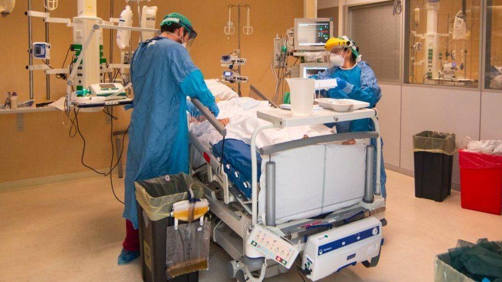 Sala de un hospital