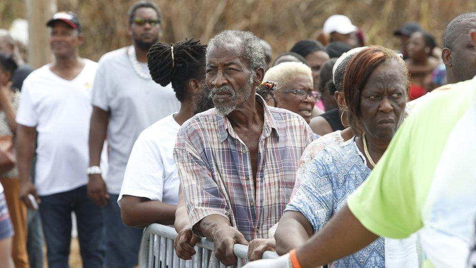 Personas en Bahamas