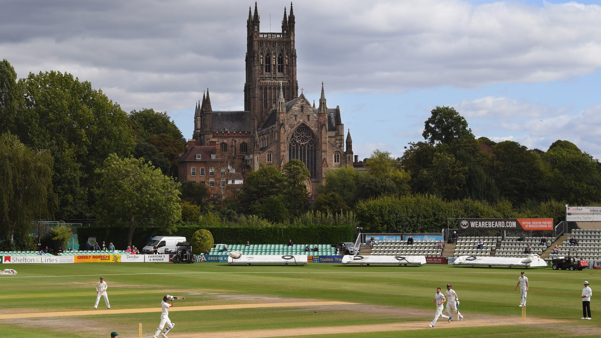 Warwickshire: Bears to play County Championship home game at Worcester