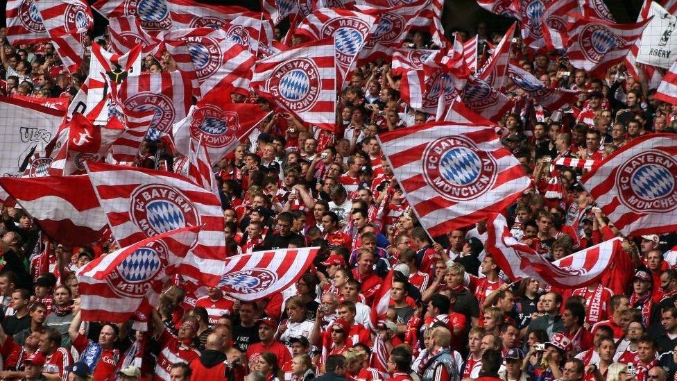 hinchas del Bayern Munich