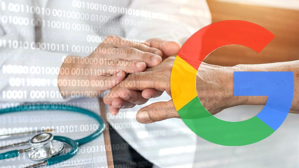 Google data graphic