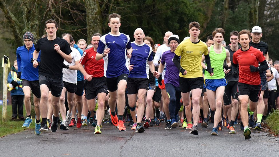 Parkrun in Glasgow