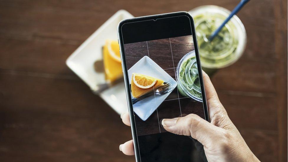 foto con celular