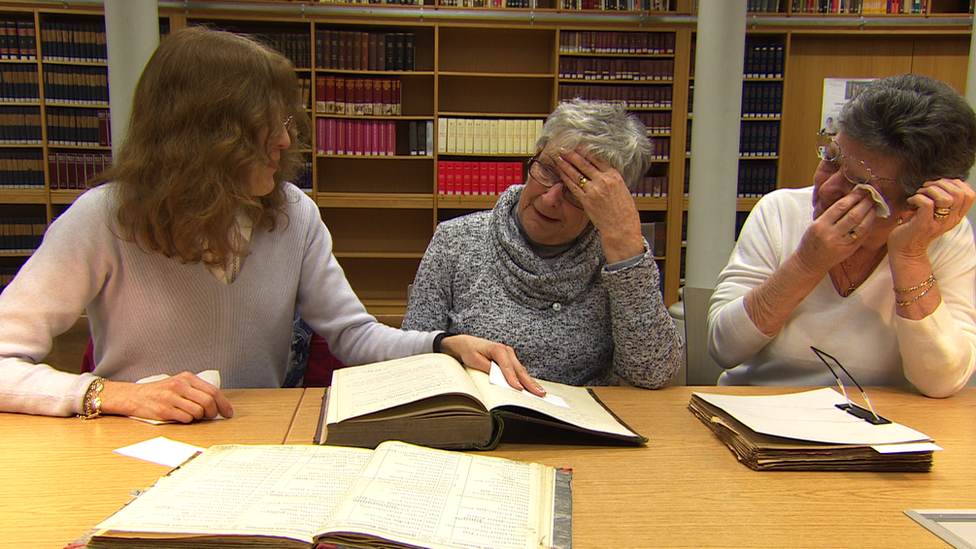Women in Halle archives
