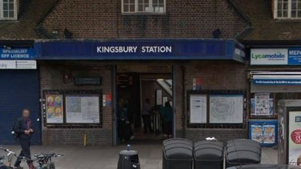 Three injured in shooting near Kingbsury Tube station