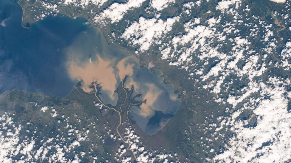 Atrato River in Colombia, seen from the ISS