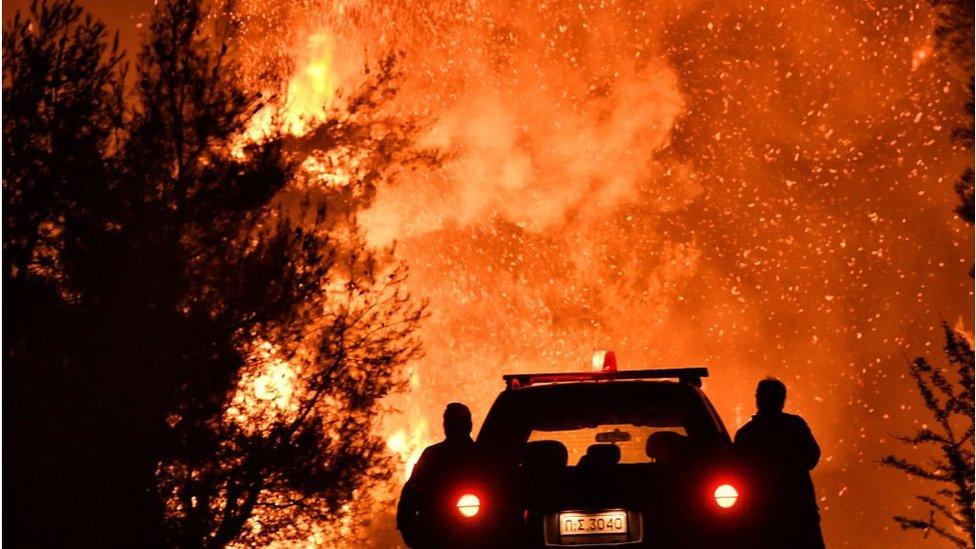 Požari koji dolaze kao posledica visokih temperatura